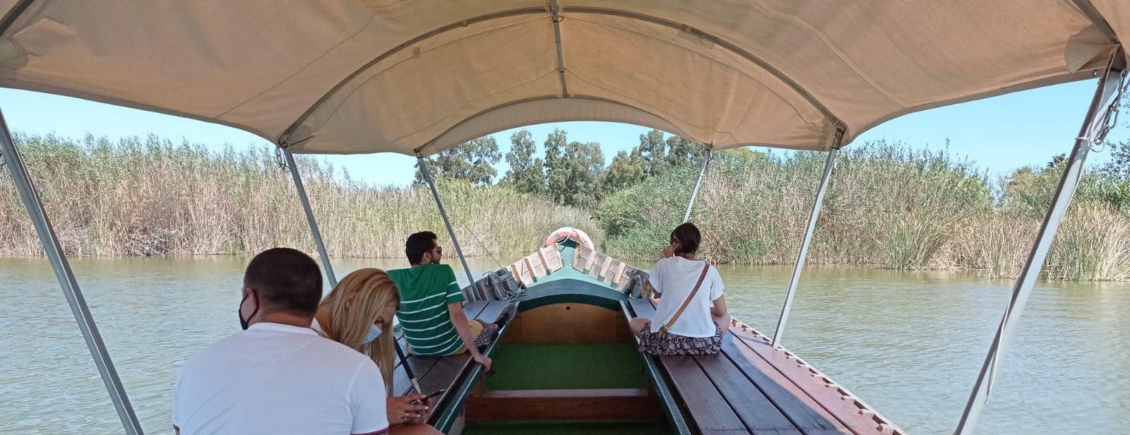 Paseo en barca albufera con toldo el tio pastilla
